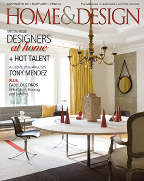 Home and Design: Going Glam – July/August 2013