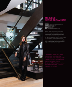 Modern Luxury Magazine's November 2015 Issue